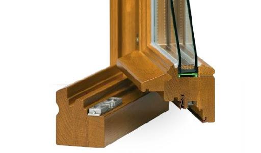 Les fenêtres en bois et le double vitrage