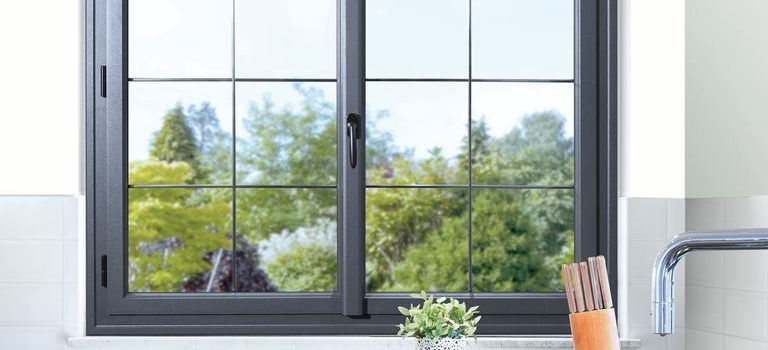 Luminosité d'un fenêtre en aluminium