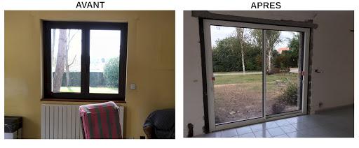 Comment transformer une fenêtre en porte-fenêtre ?